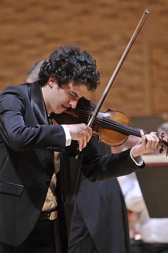 Violinist Itamar Zorman