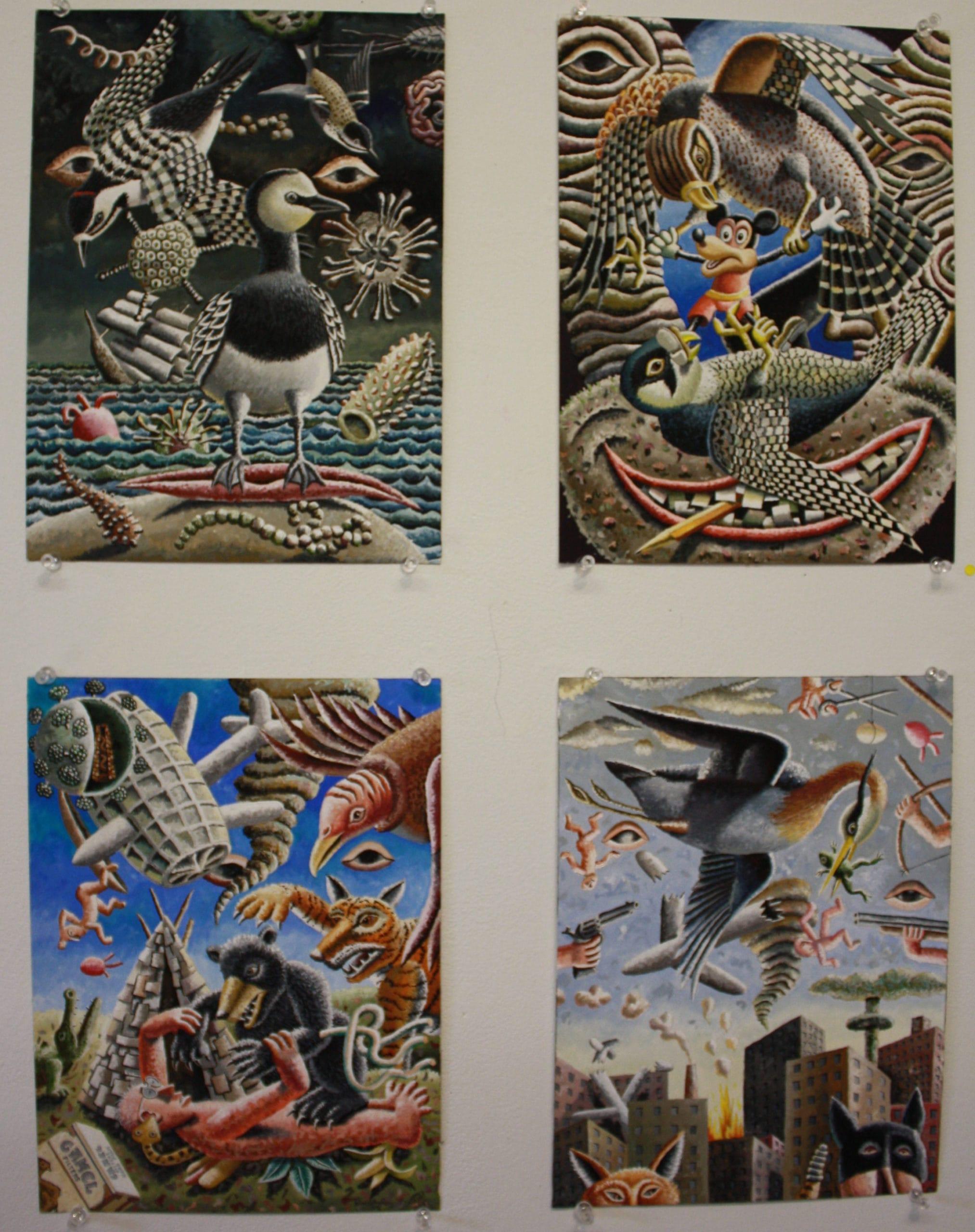 'Disaster 1-4, by Morgan Bulkeley