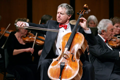 Yehuda Hanani, cellist and artistic director of Close Encounters with Music