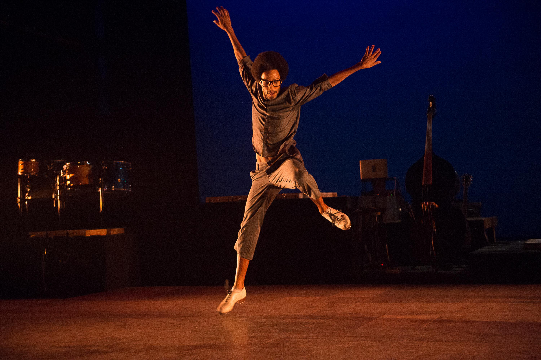 "Leonardo Sandoval in ""ETM: The Initial Approach."" Photo Christopher Duggan"