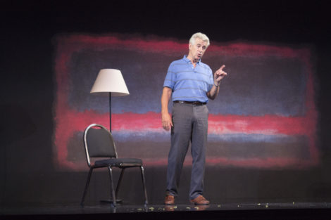 James Naughton as Gabe. Photo by Emily Faulkner