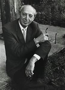 The composer, Aaron Copland.