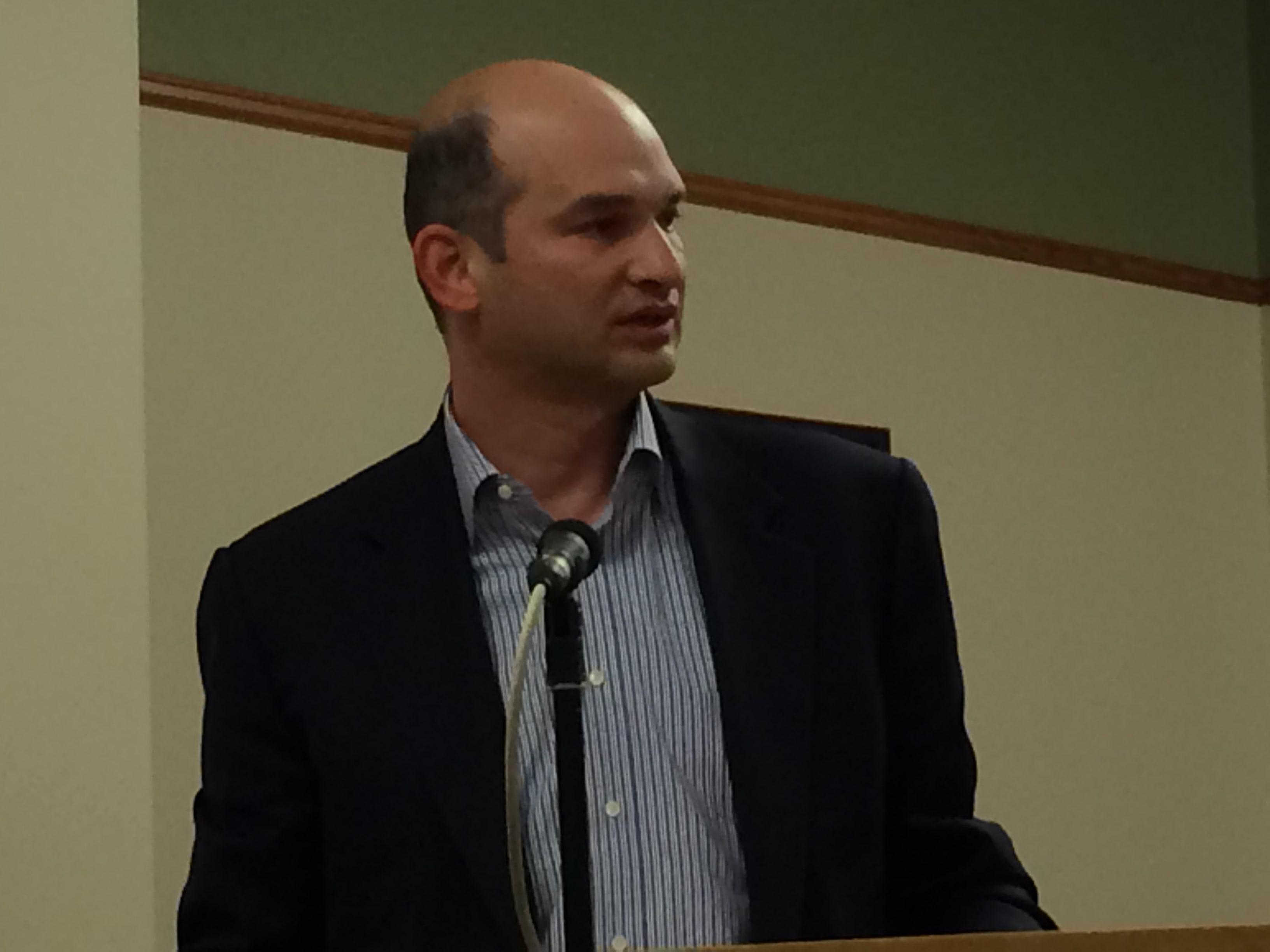 Gabe Finke, Amstar CEO.