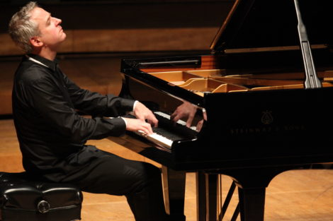 Jeremy Denk in performance of Bach's 'Goldberg Variations.' Photo: Hilary Scott