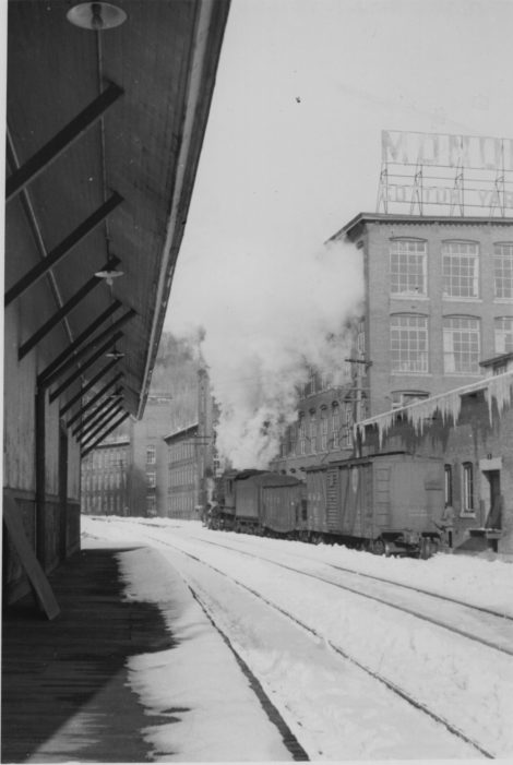 One of the depots in Housatonic in 1939, taken by the late James Saunders of Sheffield.