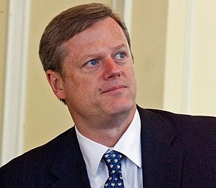 Republican candidate Charlie Baker.