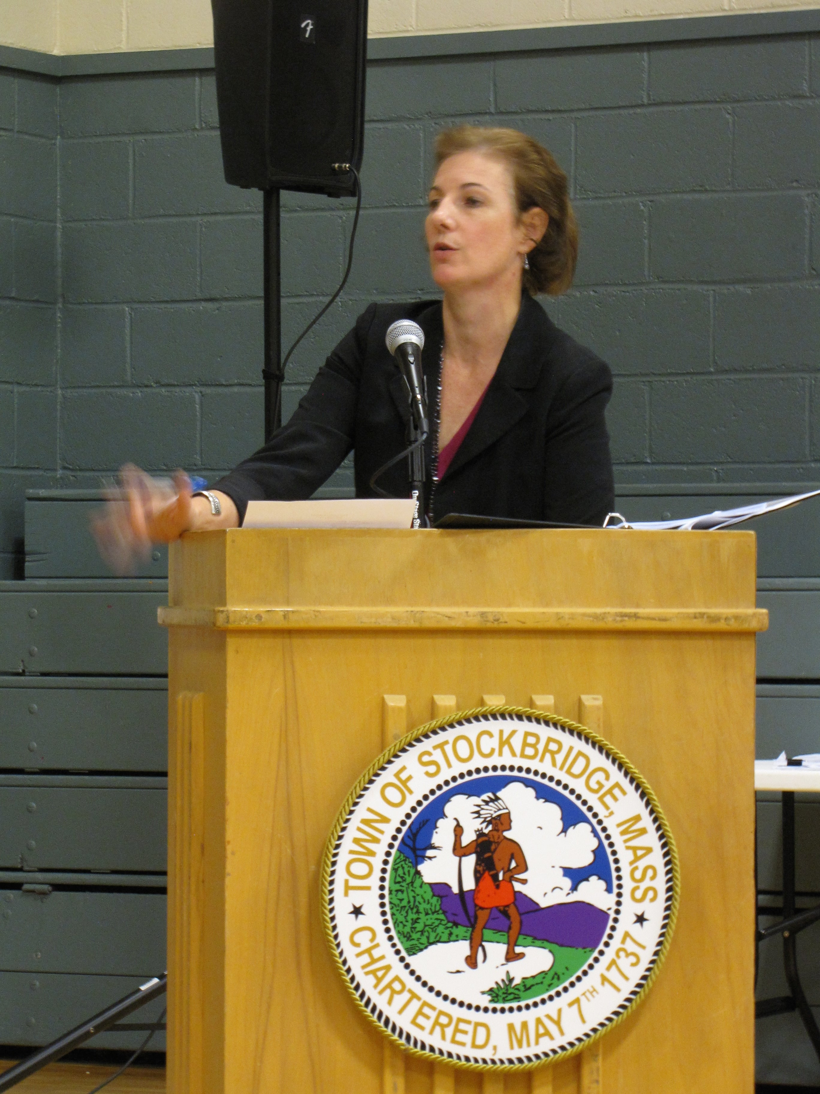 Attorney Alexandra Glover, requesting that Front Yard withdraw its application for a special permit.