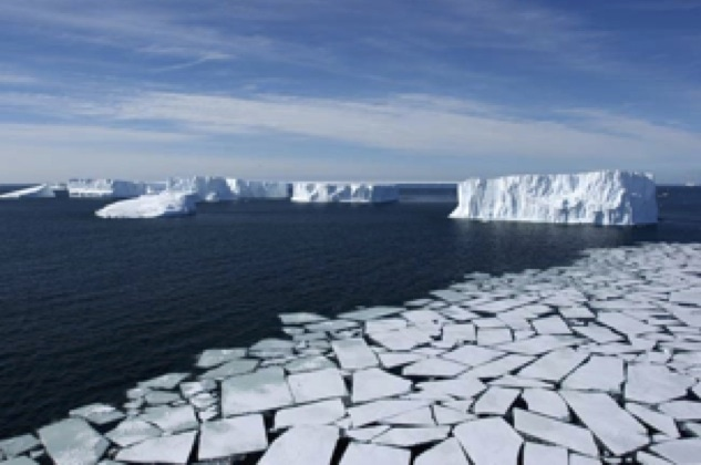 Human-induced warming is causing glaciers and permafrost to melt. Image: U.S. Global Change Research Program.