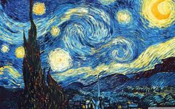The Starry Night: Vincent van Gogh, June 1889