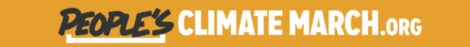 climate march logo penant