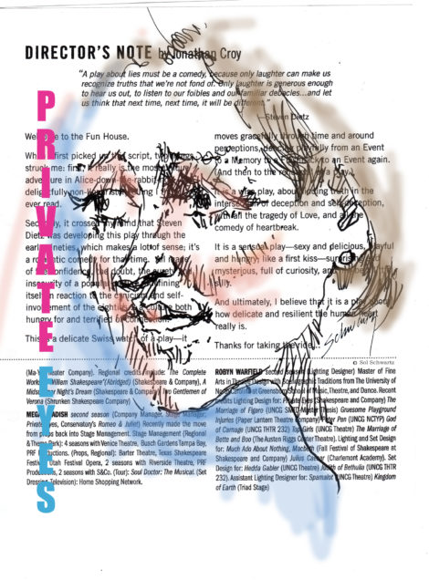 Caroline Calkins. Illustration by Sol Schwartz.