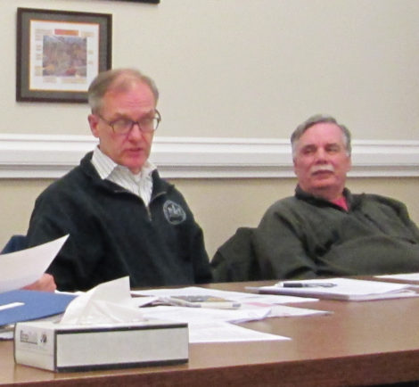 Committee members Thomas Blauvelt, left, and Walter F. Atwood III.