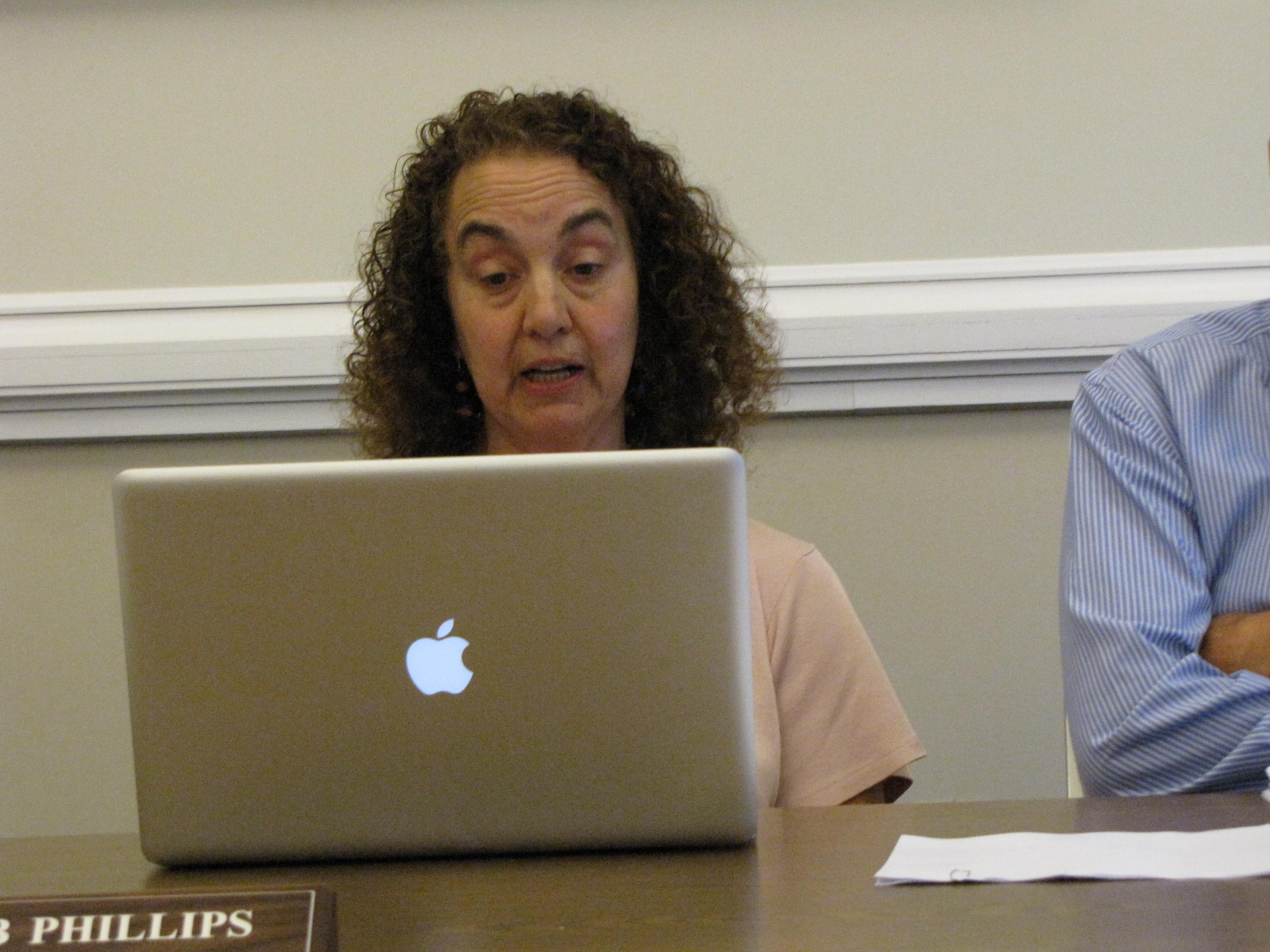 Select board Chair Deborah Phillips.