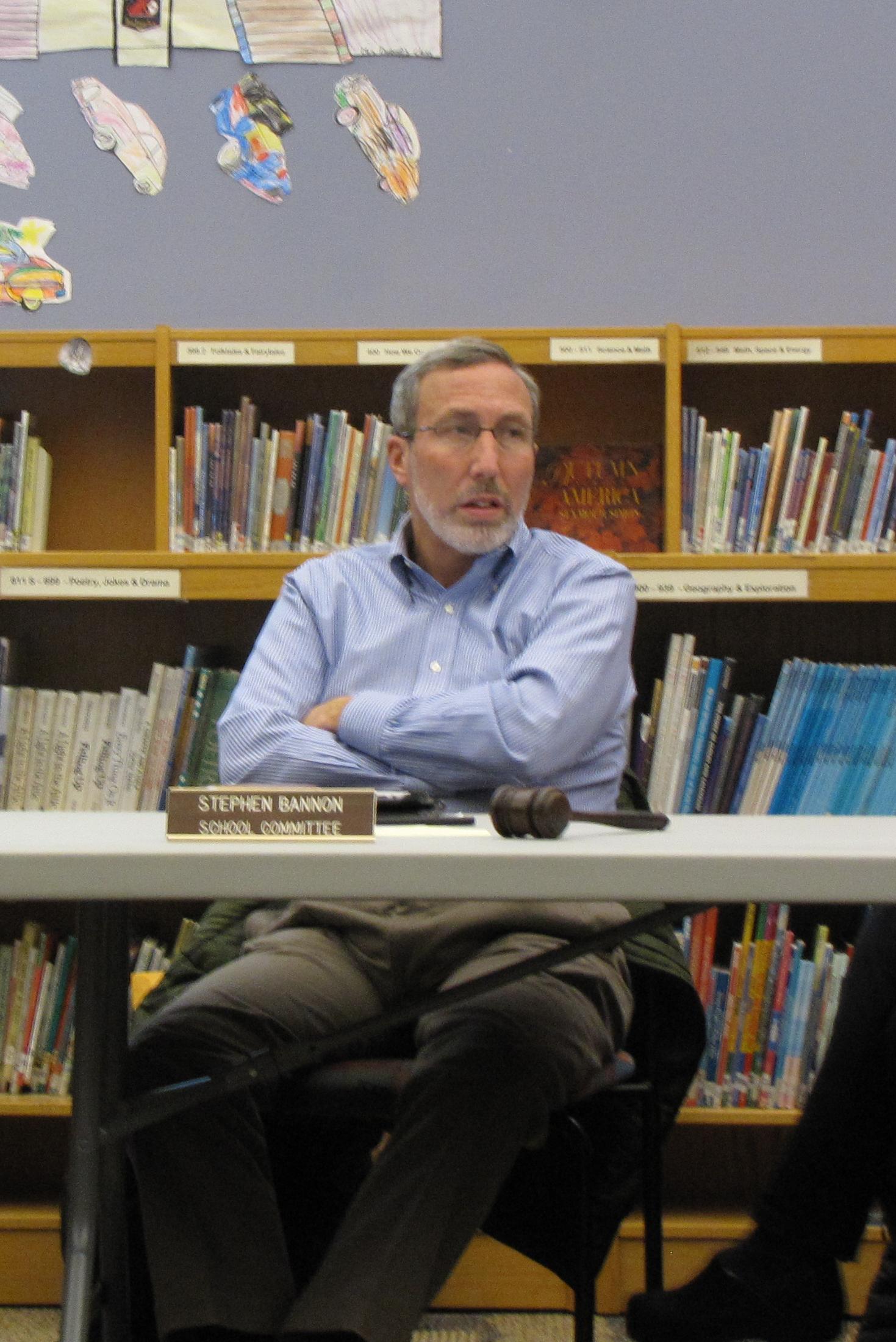 Berkshire Hills School Committee Chairman Stephen Bannon.