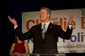 Governor-elect Charlie Baker.