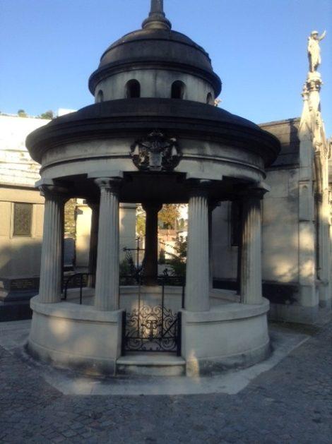 Tomb of the Talleyrand-Périgords. Photo: Joan Schenkar.