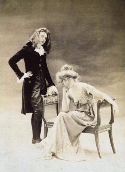 Renée Vivien and Natalie Barney.