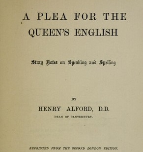 Image result for The queen's English