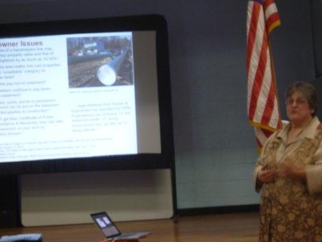 Rosemary Wessel, representing NoFrackedGasinMass.org