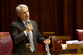 Connecticut State Sen. Len Suzio who won re-election two years ago claiming to be an advocate for the environment.