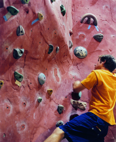 Bard Academy students will be able to test their skills on the rock wall in the Kilpatrick Athletic Center.