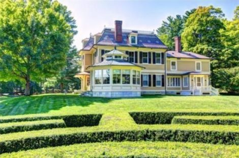 Southmayd, a 50-acre estate on the banks of the Housatonic River in Stockbridge, that is being offered for $11.5 million.