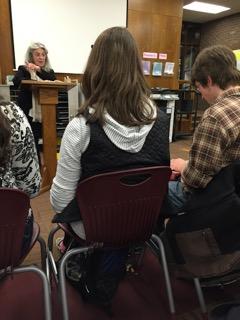 Karen Chase reads from her memoir, 'Polio Boulevard.'