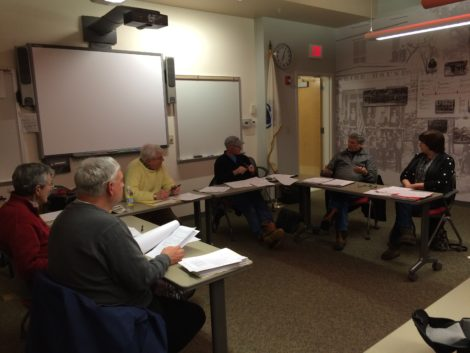 Great Barrington Historical Commission, from left: Gary Leveille, David Rutstein, Paul Ivory, William Nappo, Malcolm Fick and Marilyn Bisiewicz.