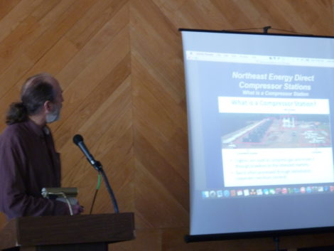 Jim Cutler of .... explains what goes into building a compressor station.