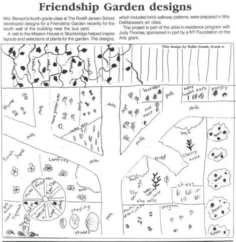 CROPPED FRIENDSHIP garden