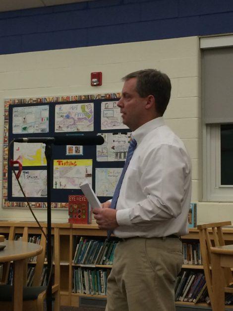 Berkshire Hills Regional School District Operations Director Steven Soule. Photo: Heather Bellow