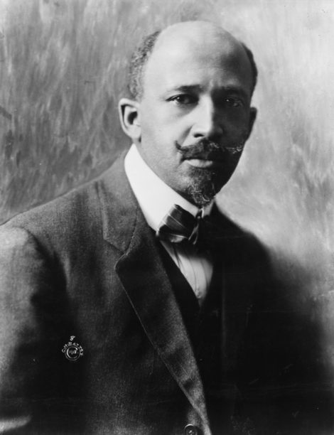 W.E.B. Du Bois in 1918. Photo courtesy of University of Massachusetts