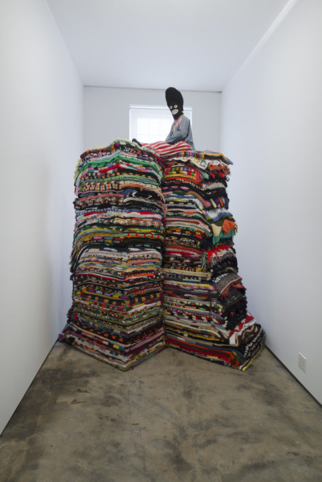 'King of the Hill,' installation by Nick Cave.