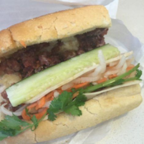 The look of a Bánh Mì.