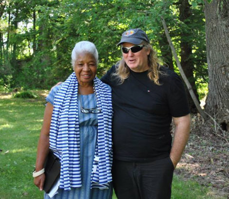 Dr. A. Lenora Taitt-Magubane and Tom Warner. Photo: Heather Bellow