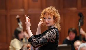 Jeannette Sorrell, conducting