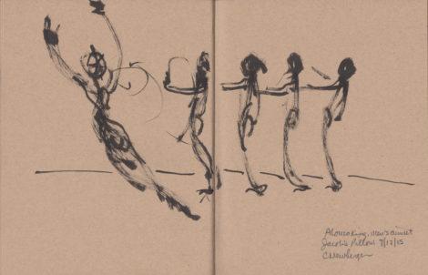 Alonzo King's 'Men's Quintet.'