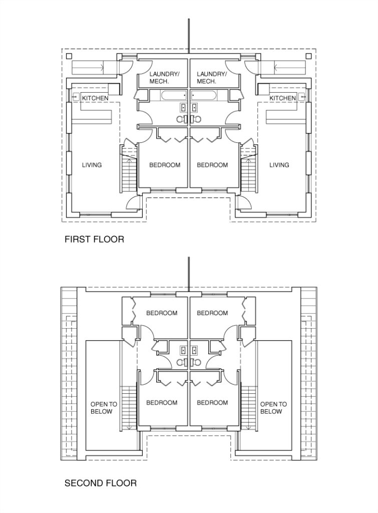 """""""Typical Floor Plans"""" Courtesy: EASTON+COMBS"""