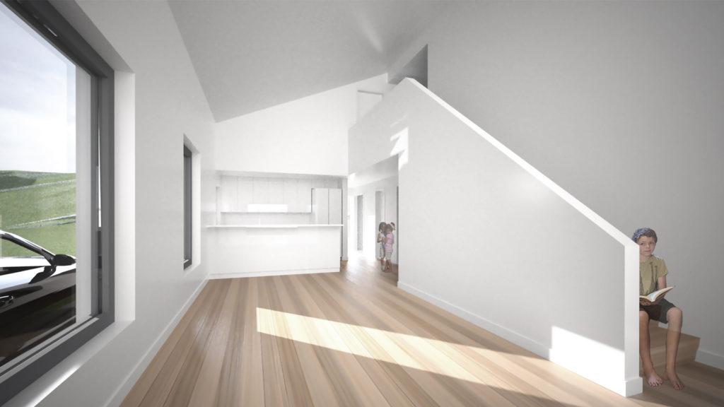 Interior view. Courtesy: EASTON+COMBS