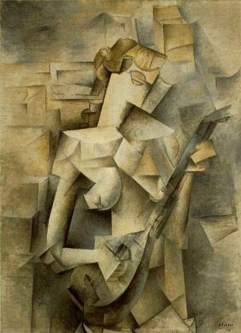 Picasso, 'Woman with Mandolin,' 1924