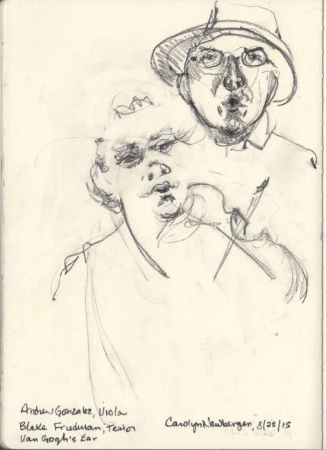 Viola and Tenor in Van Gogh's Ear.