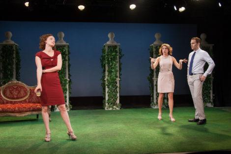 Amanda Quaid as Lauren, Kate Loprest as Allison and Robert David Grant as Mark. Photo: Kevin Sprague