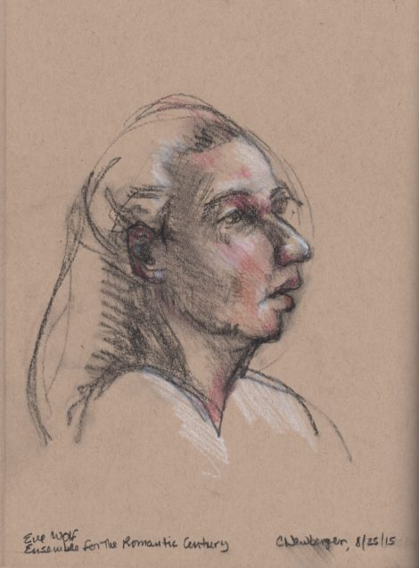 Eve Wolf. Portrait by Carolyn Newberger