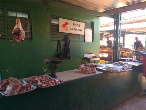 A market in Havana. Photo: Marc Aronoff