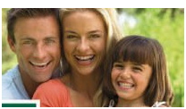 The gleeful family on the label for organic inspect repellent.