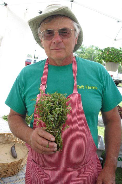 Dan Tawczynski, owner of Taft Farms in Great Barrington.