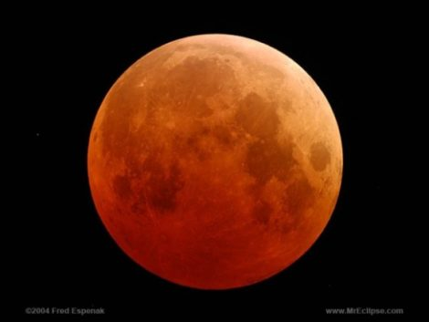 A 'blood moon ' a total eclipse will occur the evening of Sunday, Sept. 27 into Monday morning, Sept. 28.