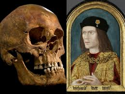 King Richard the III's bones were discovered during excavation for a car park in Leicester, England.