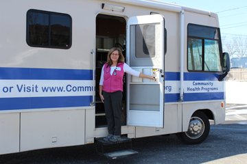 CHP operate a mobile health care clinic serving the rural Berkshires.