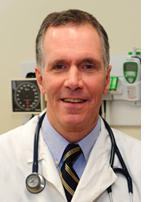 Pediatrician Dr. John Horan who resigned from CHP two weeks ago.